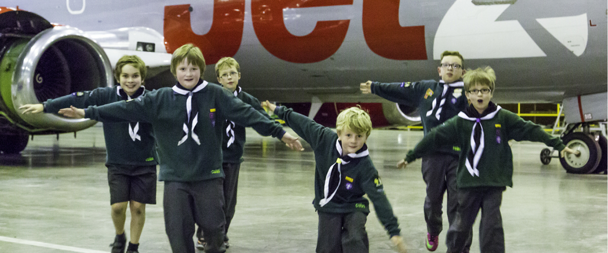 The Cubs visit Jet2 at Leeds Bradford
