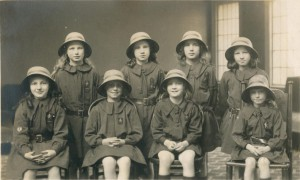 Brownies (Oaken Leaves) at the Wharfedale Festival 1922
