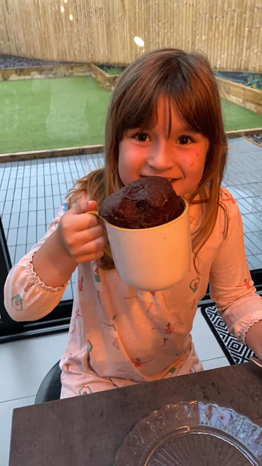 Brownies say thank you