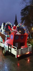 Santa tours Burley